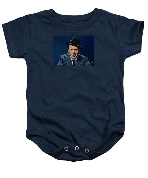 Frank Sinatra Baby Onesie by Paul Meijering