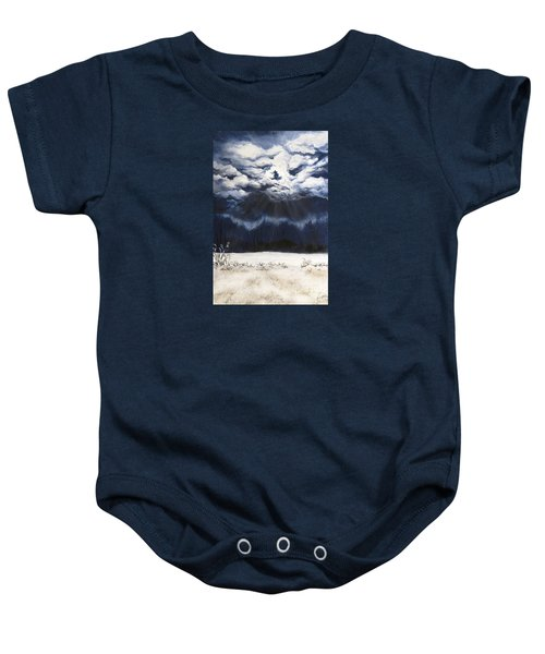 From The Midnight Sky Baby Onesie