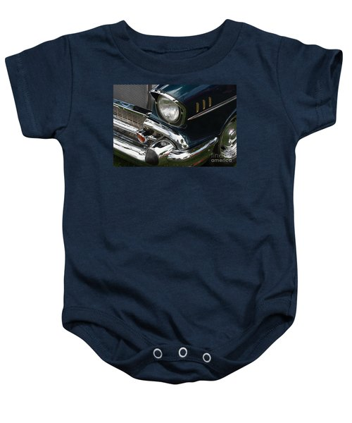 Front Side Of A Classic Car Baby Onesie