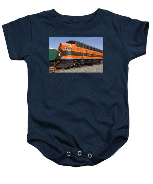 Garibaldi Locomotive Baby Onesie