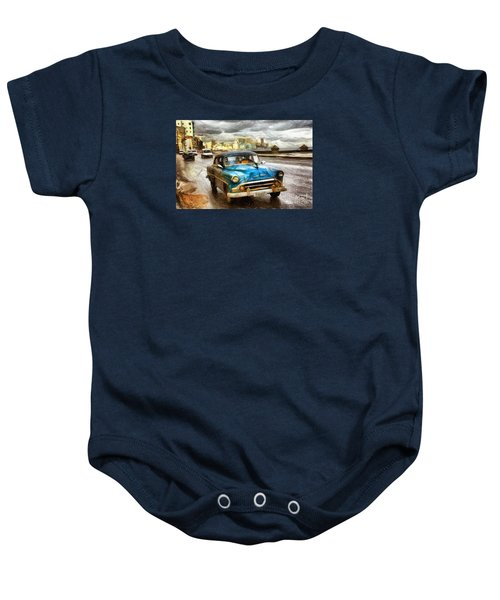Get Outta My Dreams Get Into My Car Baby Onesie