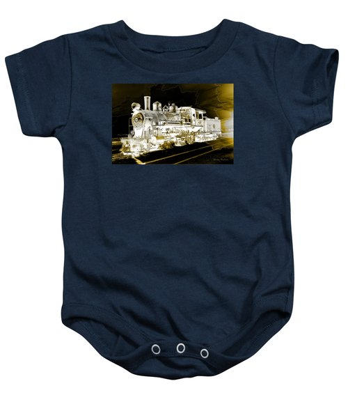 Ghost Train Baby Onesie