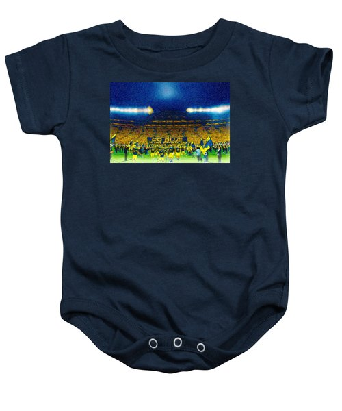 Glory At The Big House Baby Onesie by John Farr