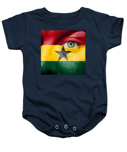Go Ghana Baby Onesie