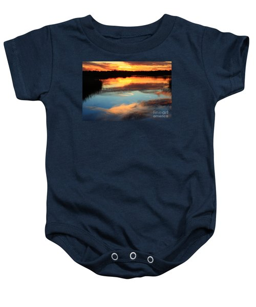 Guana River Sunset Baby Onesie