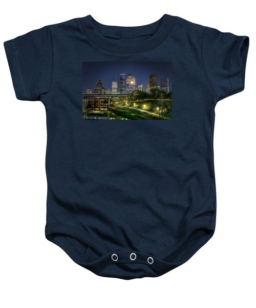 Houston On The Bayou Baby Onesie