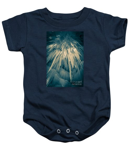 Ice Cave Baby Onesie by Edward Fielding