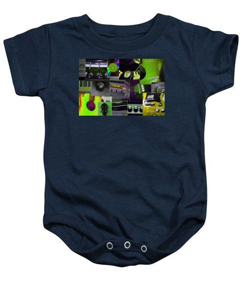It's All About Music Baby Onesie
