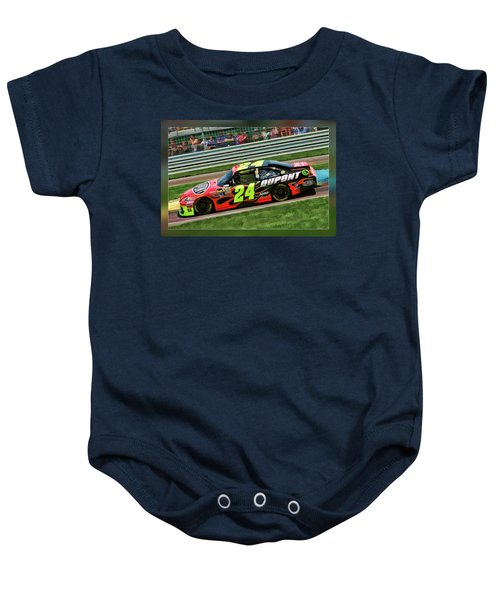 Jeff Gordon Baby Onesie
