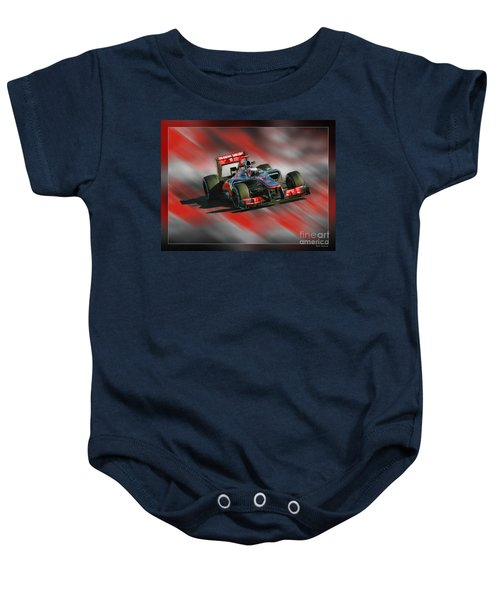 Jenson Button  Baby Onesie