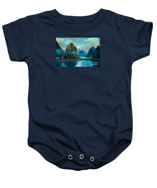 Journeys End Baby Onesie by Aimee Stewart