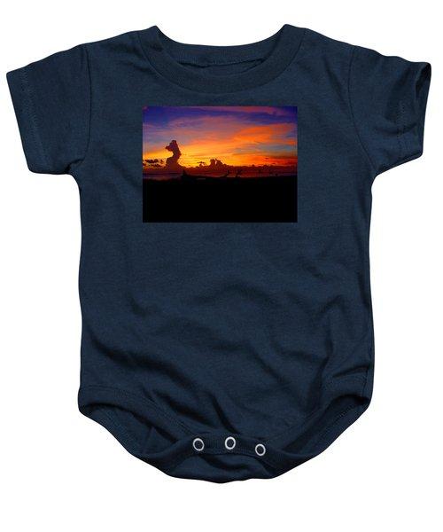 Key West Sun Set Baby Onesie