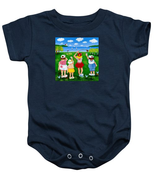 Ladies League Door County Baby Onesie