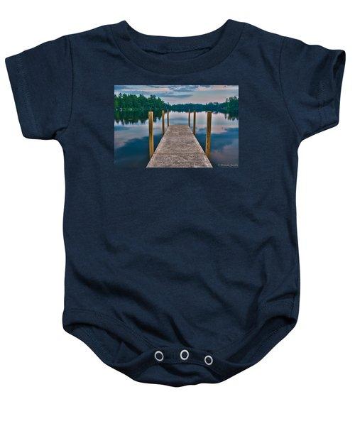 Lees Mills Dock Baby Onesie