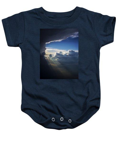 Light Shafts From Thunderstorm II Baby Onesie