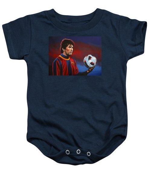 Lionel Messi 2 Baby Onesie