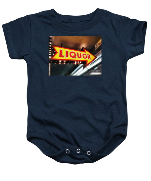 Liquor Store Sign Baby Onesie