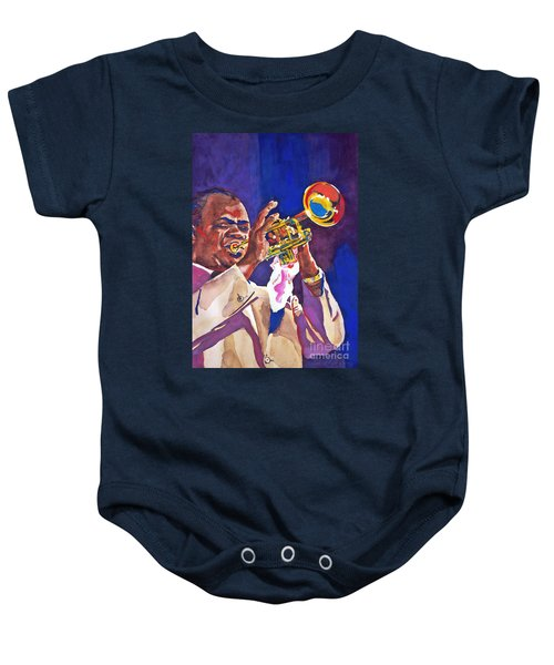 Louis Satchmo Armstrong Baby Onesie