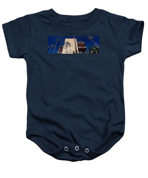 Low Angle View Of A Hotel, Beverly Baby Onesie by Panoramic Images