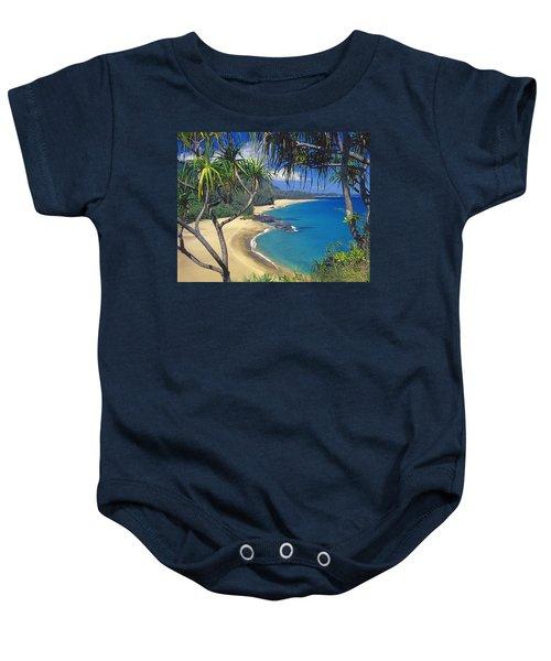Lumahai Beach Baby Onesie