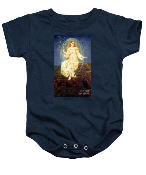 Lux In Tenebris Baby Onesie