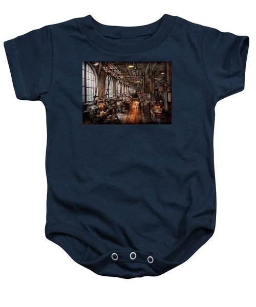 Machinist - A Fully Functioning Machine Shop  Baby Onesie