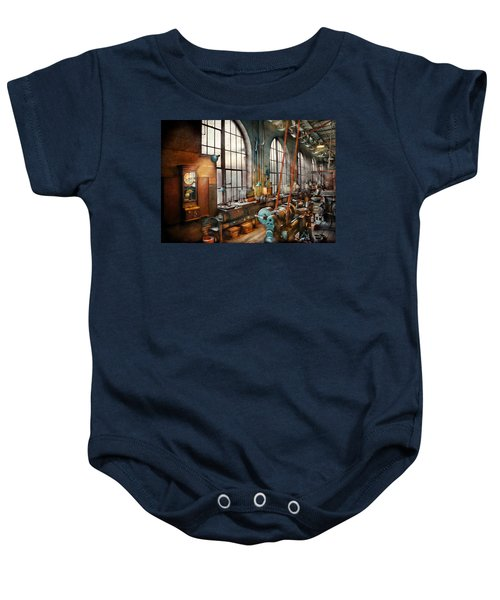 Machinist - Back In The Days Of Yesterday Baby Onesie
