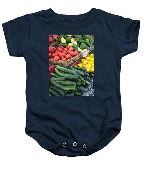 Market Freshness Baby Onesie