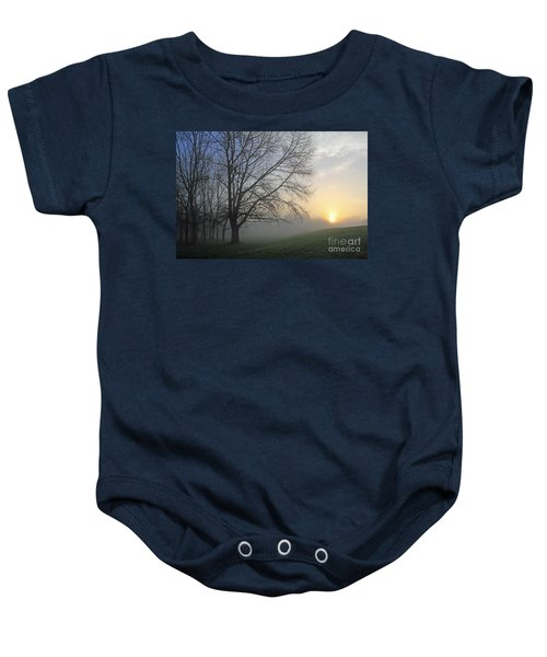Misty Dawn Baby Onesie