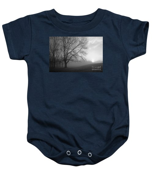 Misty Morning Baby Onesie