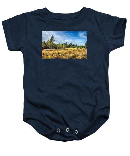 Wetlands In The Black Forest Baby Onesie