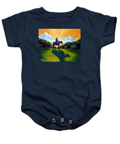 Morning Rounds Baby Onesie