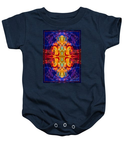 Mother Of Eternity Abstract Living Artwork Baby Onesie