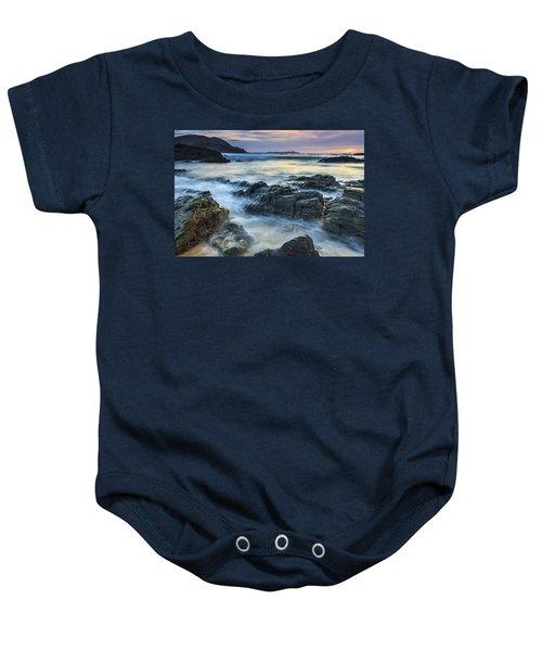 Mourillar Beach Galicia Spain Baby Onesie