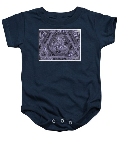 Nautical Coloured Design Baby Onesie