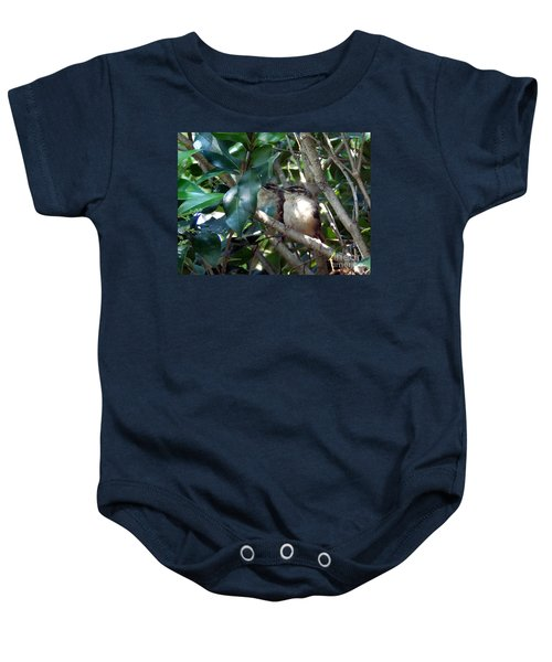 Now What Baby Onesie by Skip Willits