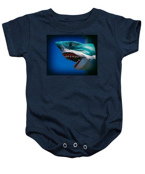 Ocean City Shark Attack Baby Onesie