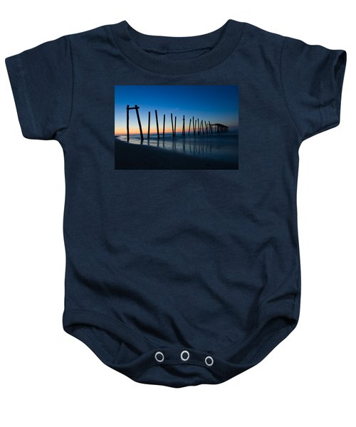 Old Broken 59th Street Pier Baby Onesie