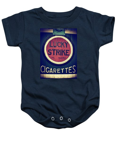 Old Time Cigarettes Baby Onesie