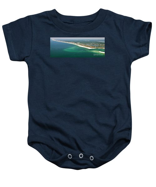 Looking N W Across Perdio Pass To Gulf Shores Baby Onesie