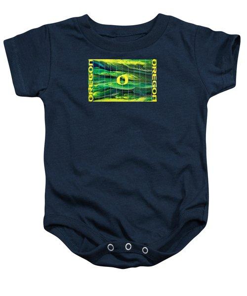 Oregon Football Baby Onesie