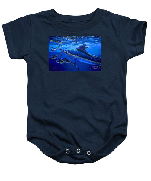 Out Of The Blue Baby Onesie by Carey Chen