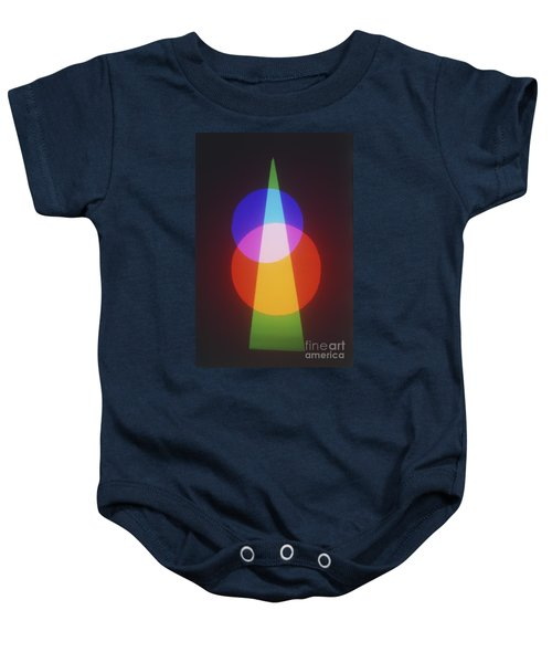 Overlapping Colors Baby Onesie