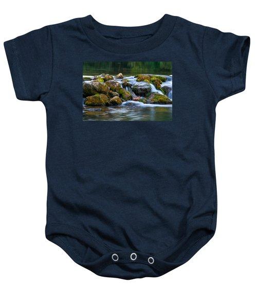 Ozark Waterfall Baby Onesie