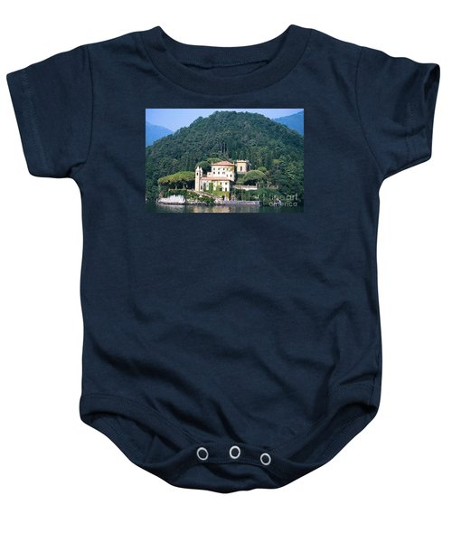 Palace At Lake Como Italy Baby Onesie