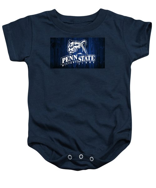 Penn State Barn Door Baby Onesie by Dan Sproul