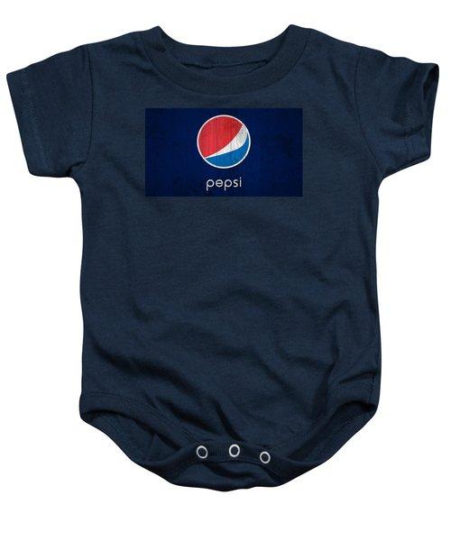 Pepsi Barn Sign Baby Onesie