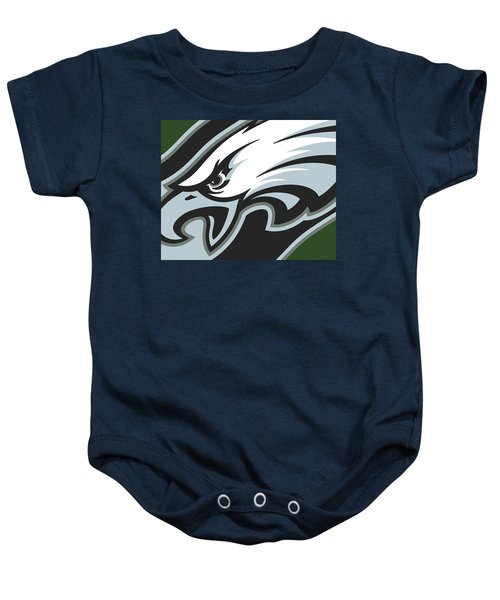 Philadelphia Eagles Football Baby Onesie