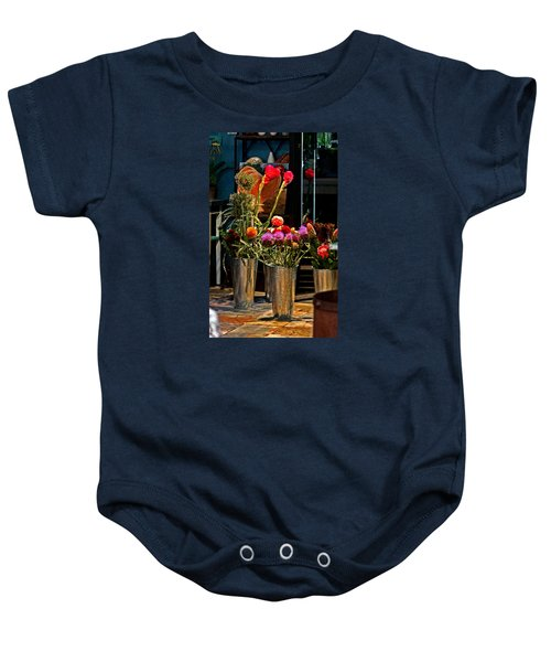 Phlower Vases Baby Onesie