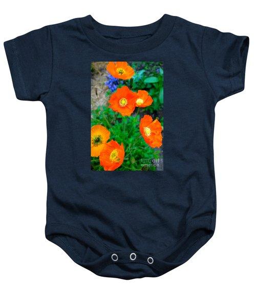 Pretty In Orange Baby Onesie
